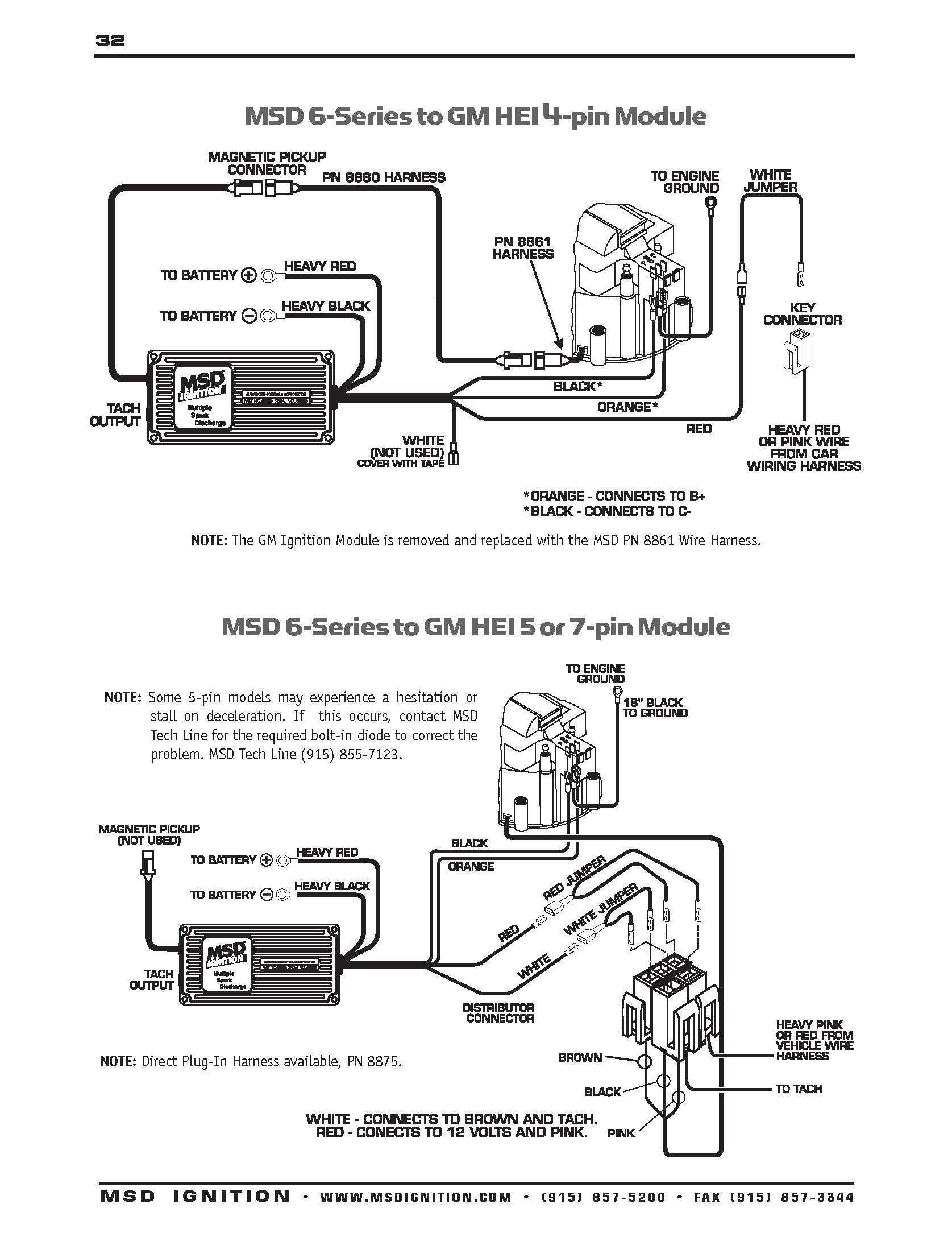 Msd Digital 6al Wiring Diagram