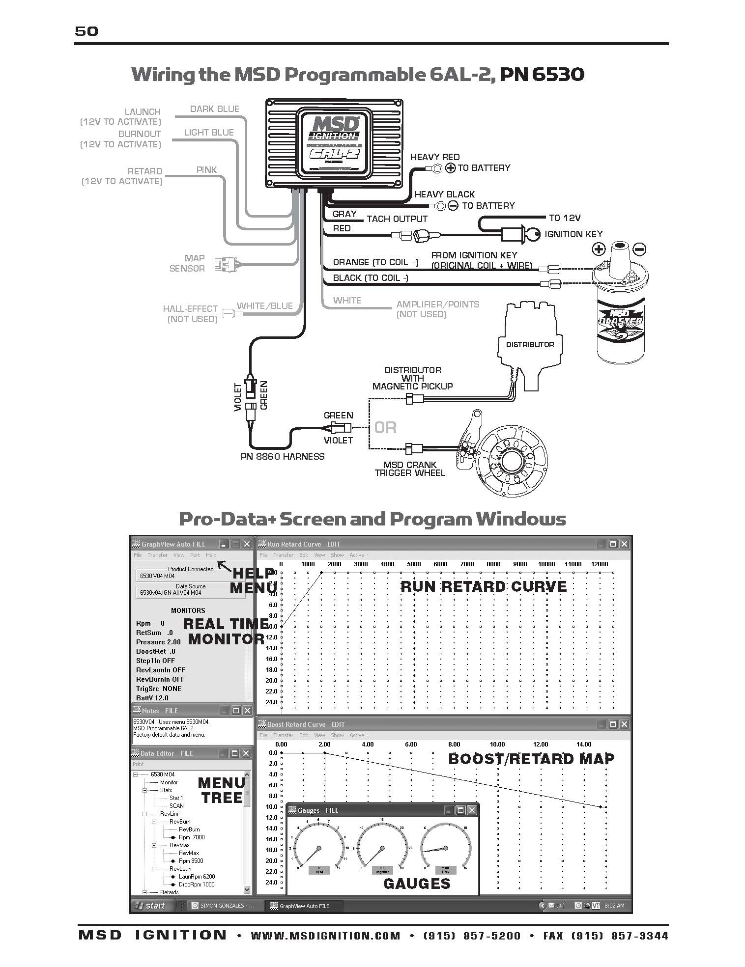 msd digital 6al wiring diagram Download-Wiring Diagram Msd 6al Points WDTN Pn9615 Page New 6Al In 2-q