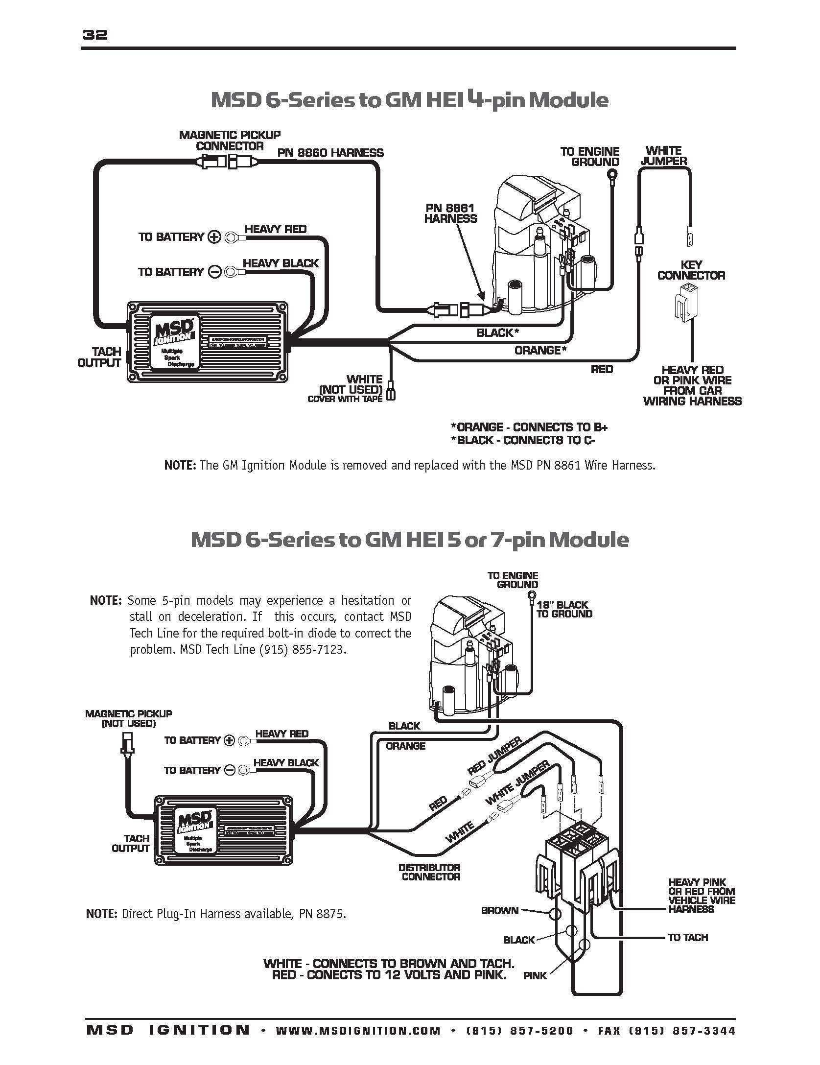 Msd Ignition 6al 6420 Wiring Diagram Wiring Diagram
