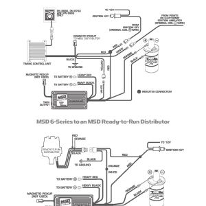 msd ignition 6al 6420 wiring diagram - wiring diagram for msd 6aln 6420 6al  within box
