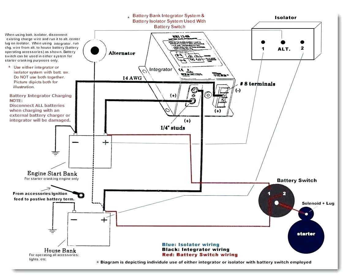 Multi Battery Isolator Wiring Diagram Free Wiring Diagram