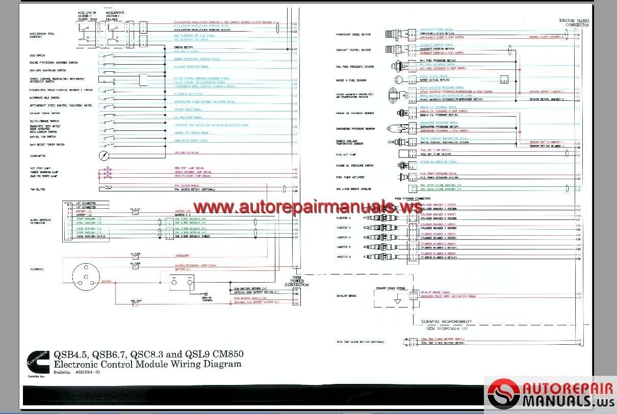N14 Cummins Ecm Wiring Diagram