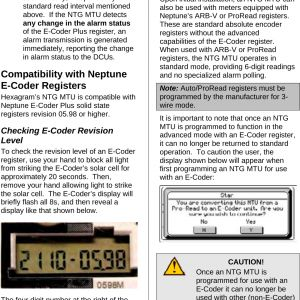 Neptune Water Meter Wiring Diagram - Page 57 Of Transmitter for Meter Reading User Manual Installation Instructions Aclara Technologies Llc 2c