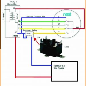 Nest thermostat Humidifier Wiring Diagram - Nest Wireless thermostat Wiring Diagram Refrence Nest thermostat Wiring Diagram Wellread 18o