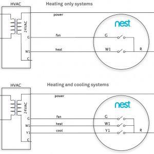 Nest thermostat Wiring Diagram Heat Pump - Nest thermostat Wiring Diagram Nest thermostat Wiring Diagram Download 16p