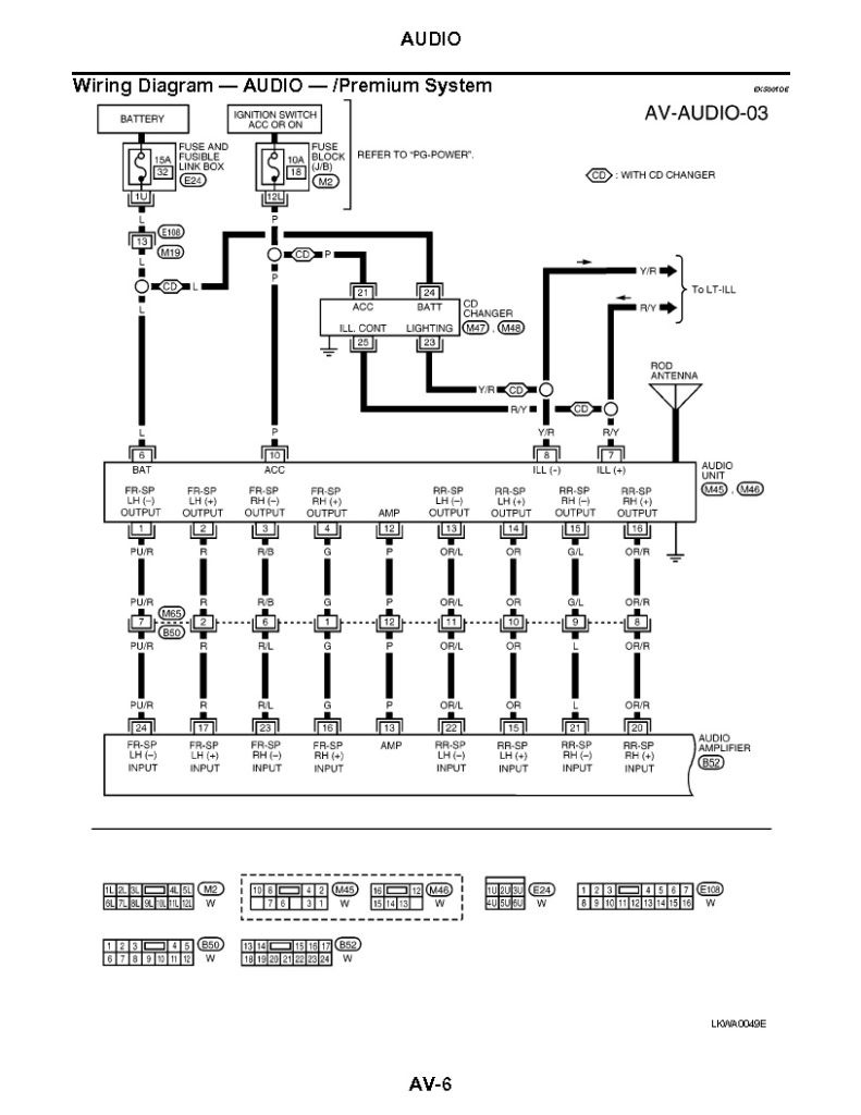 2003 nissan altima bose amp wiring diagram technical diagrams wiring diagram for 2006 nissan altima