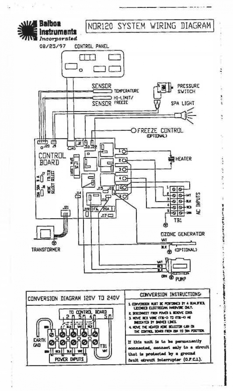 Watkins Spa Wiring Diagrams - All Wiring Diagram on