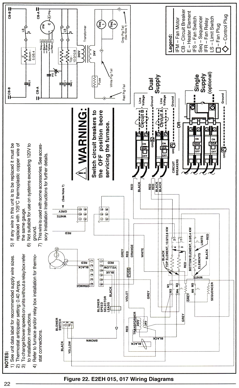Nordyne Air Handler Wiring Diagram