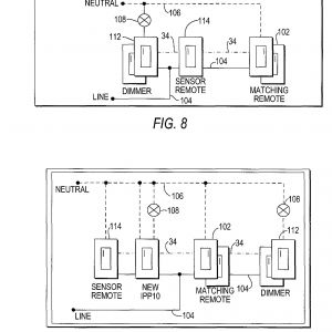 Occupancy Sensor Wiring Diagram 3 Way - Patent Us Motion Sensor Switch for 3 Way Light Circuit New Patent Us Motion Sensor 19q