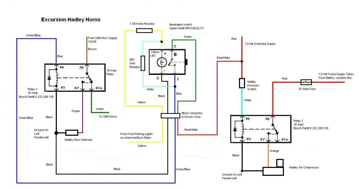 34 Omega Train Horn Wiring Diagram