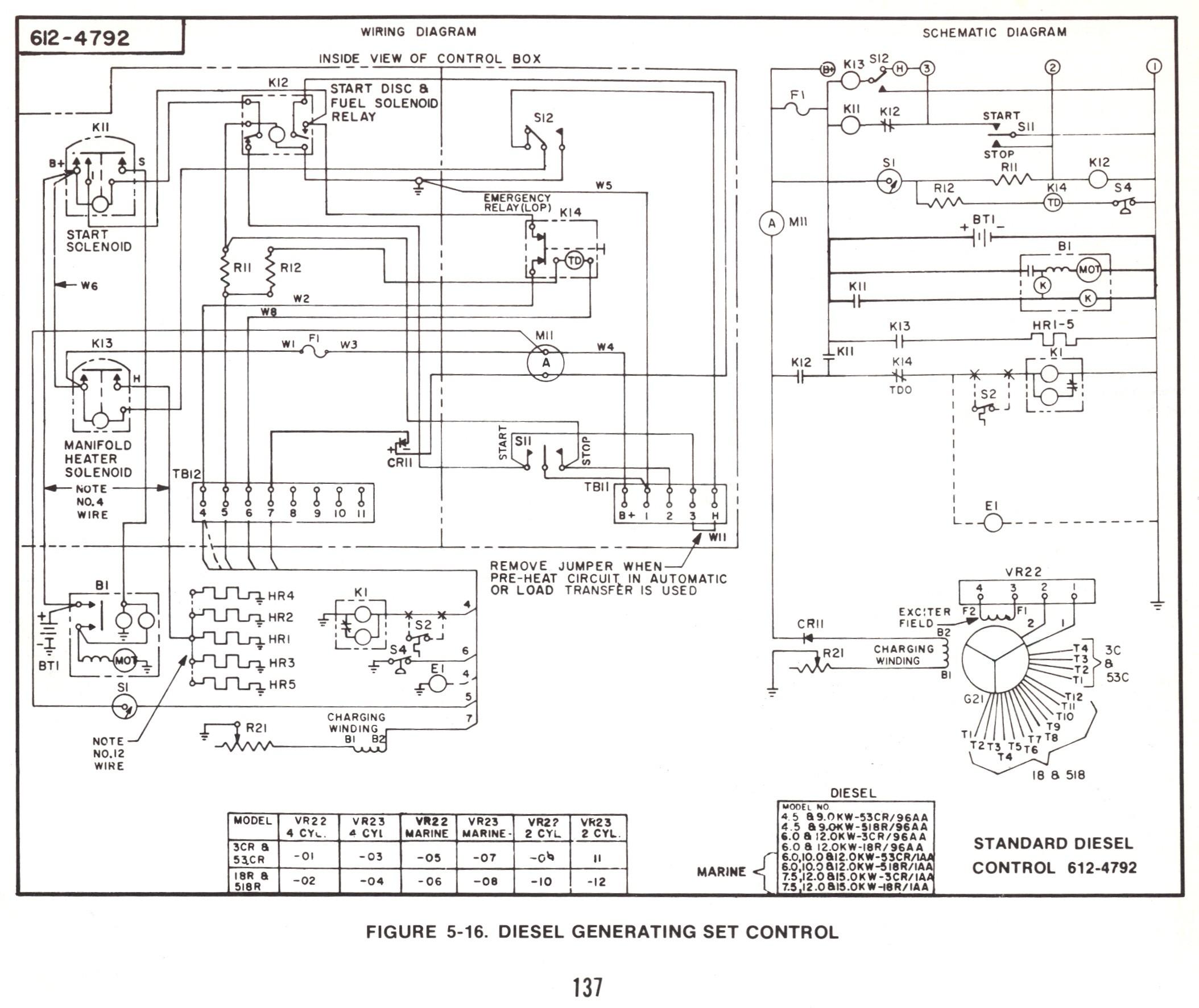 Onan    Emerald    1 Genset    Wiring       Diagram      Free    Wiring       Diagram
