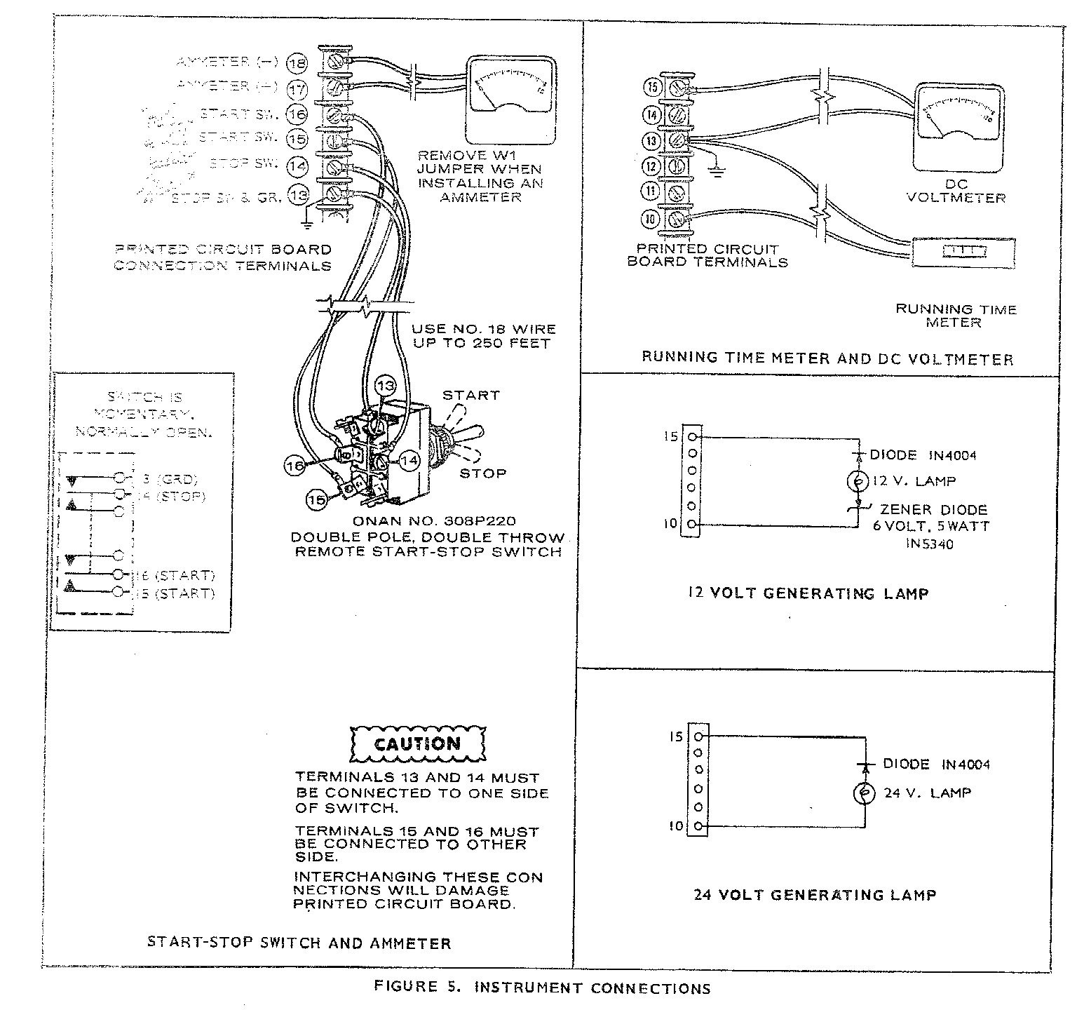 Onan Generator Remote Start Switch Wiring Diagram