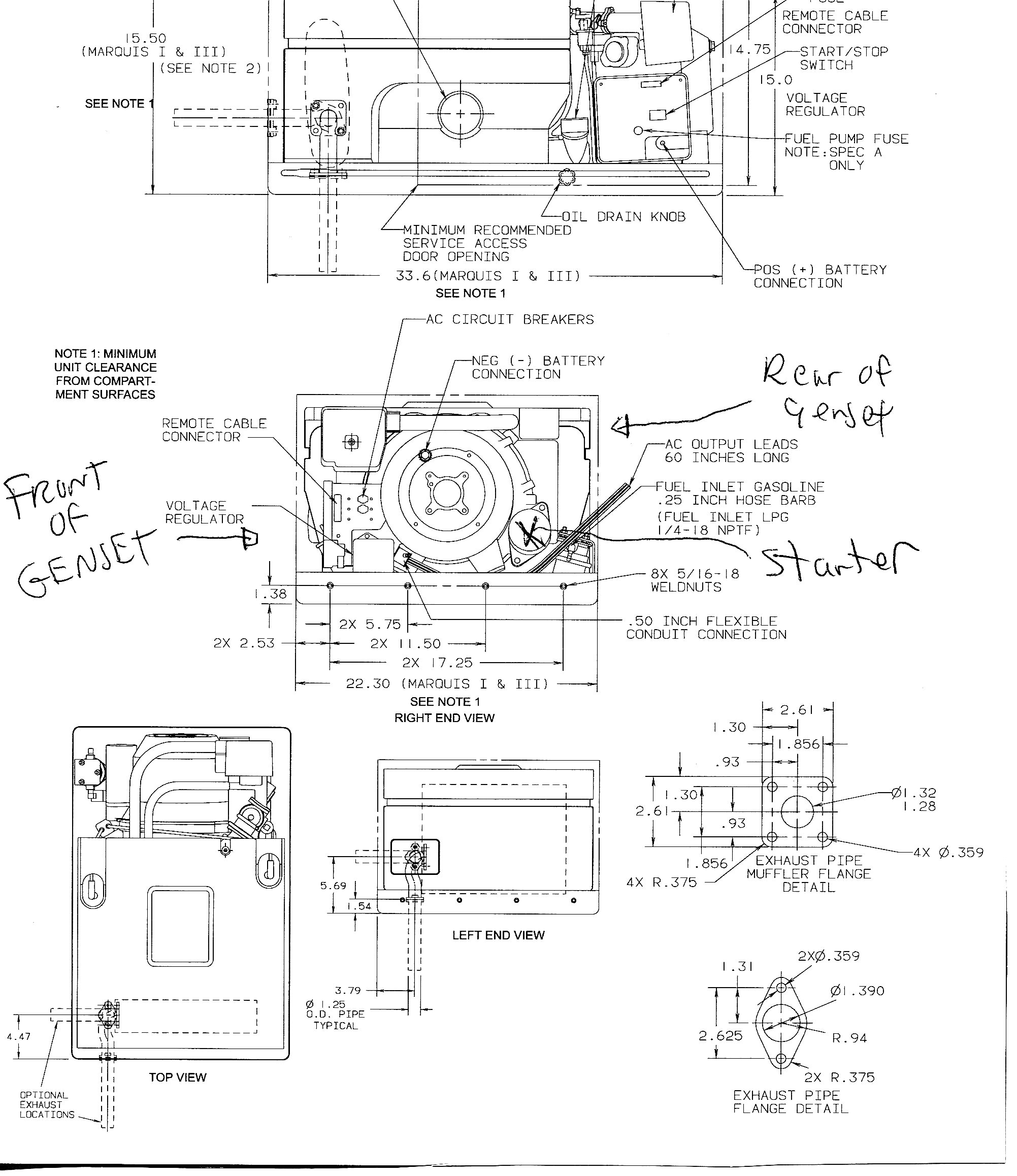 Onan Generator Remote Start Switch Wiring Diagram Wiring