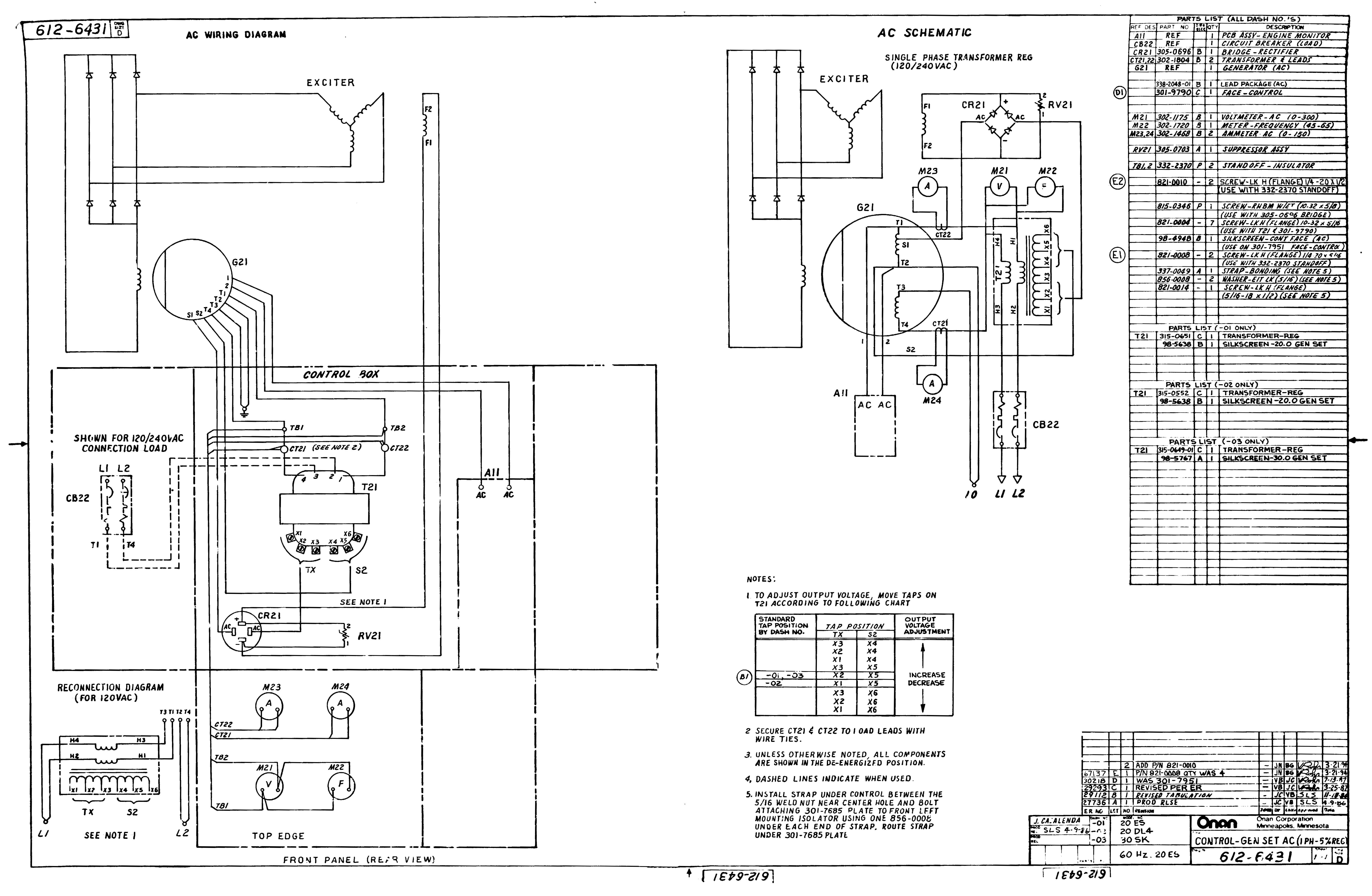 Onan 18 Hp Wiring Diagram