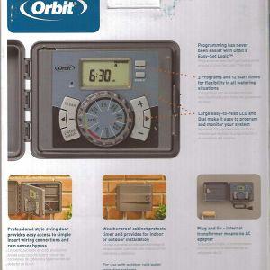 Orbit Sprinkler Wiring Diagram - Amazon orbit 6 Station Indoor Outdoor Sprinkler Timer Model Garden & Outdoor 19q