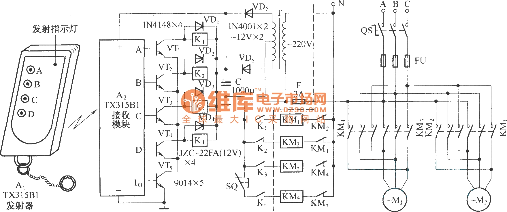 overhead crane wiring diagram Collection-Overhead Crane Wiring Diagram Luxury Electric Single Girder Crane Radio Remote Control Tx315b1 Circuit 19-m