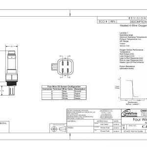 Oxygen Sensor Wiring Diagram - Wiring Diagram Universal Oxygen Sensor Fresh Denso Universal O2 Sensor Wiring Wire Center • 7d