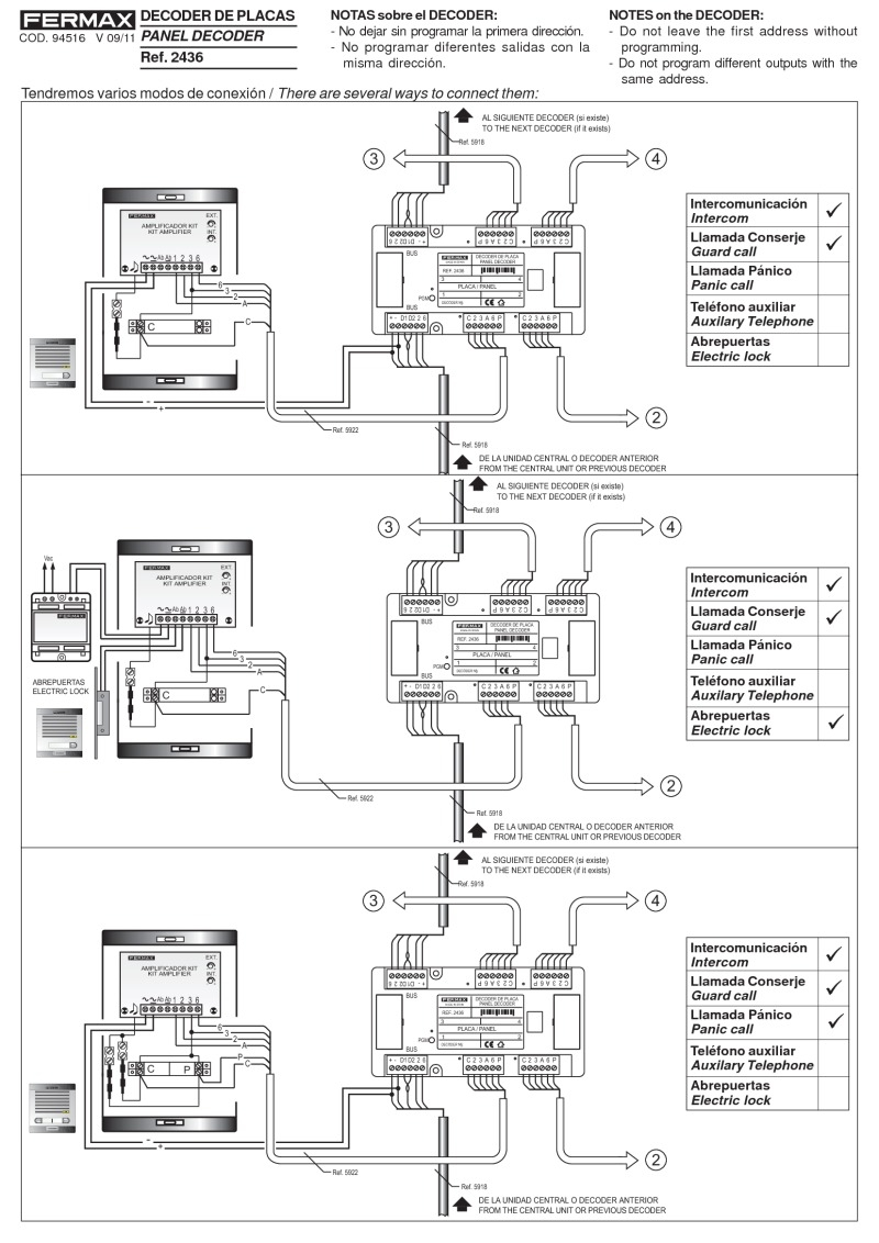 Pacific Intercom Wiring Diagram