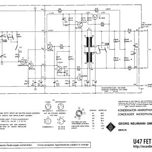 Pad Mount Transformer Wiring Diagram - Pad Mount Transformer Wiring Diagram Unique Neumann U47 Fet 5h