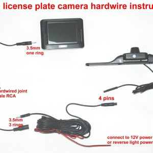 Peak Backup Camera Wiring Diagram - How to Wire Backup Camera Systemto Wiring Diagram Database Wireless Car Inch Lcd Color 20l