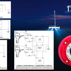 Perko Battery Switch Wiring Diagram - Perko Dual Battery Switch Wiring Diagram Marine Diagrams Fine 8m