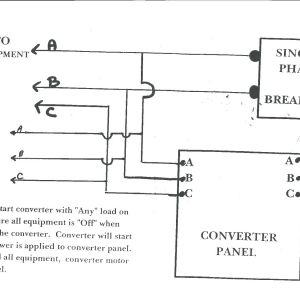 Phase O Matic Wiring Diagram - Ronk Phase Converter Wiring Diagram 4 9q