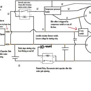 Phoenix Phase Converter Wiring Diagram - Rotary Phase Converter that Ly Runs when the Pressor Tearing Diagrams 12t