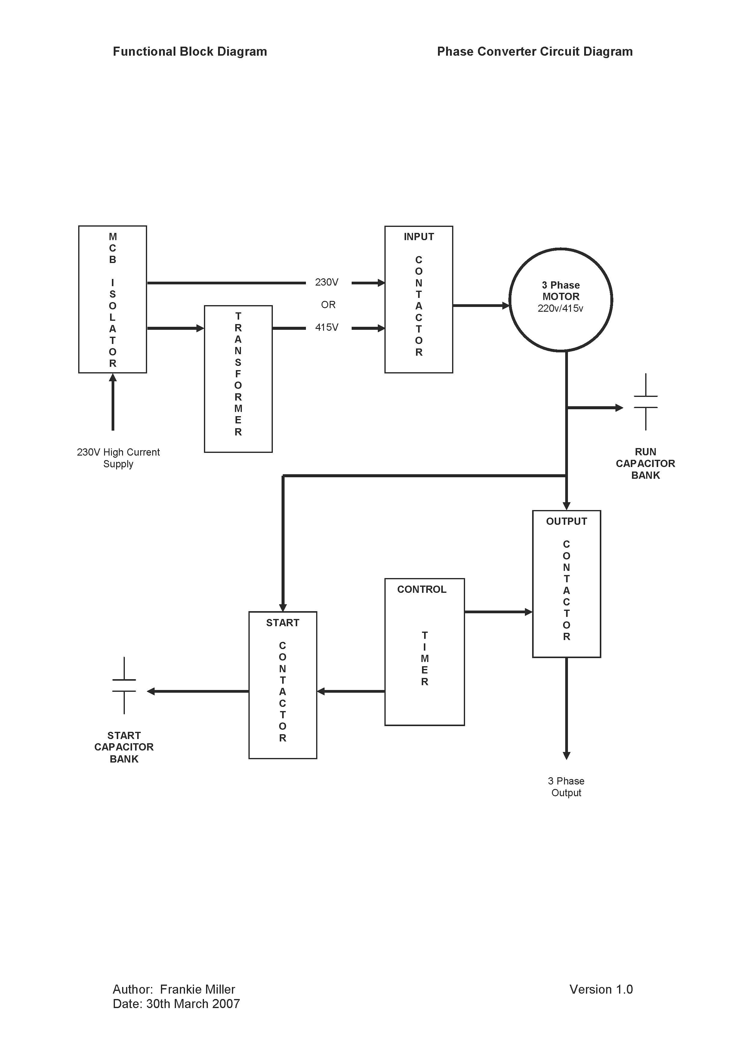Phoenix Phase Converter Wiring Diagram   Free Wiring Diagram on add a phase wiring diagram, 240 single phase wiring diagram, single phase transformer diagram, rotary switch wiring diagram, rotary phase converter theory, single phase compressor wiring diagram, 3 phase outlet wiring diagram, acme 3 phase transformer connection diagram, rotary phase converter capacitor, 2004 mazda rx-8 spark plug diagram, 3 phase power wiring diagram, 3 phase converter diagram, rotary phase converter installation, 3 phase motor connection diagram, rotary vs. static phase converter, three phase wiring diagram, 3 phase motor circuit diagram, paragon timer diagram, 200 amp service panel diagram, static phase converter diagram,