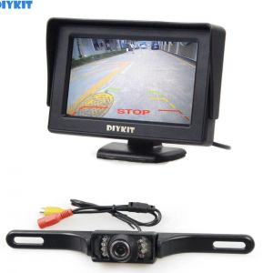 Pillow Tft Lcd Color Monitor Wiring Diagram - Diykit 4 3 Inch Tft Lcd Car Monitor Rear View Kit Reversing Ir Hd Car Camera Parking assistance System 11l