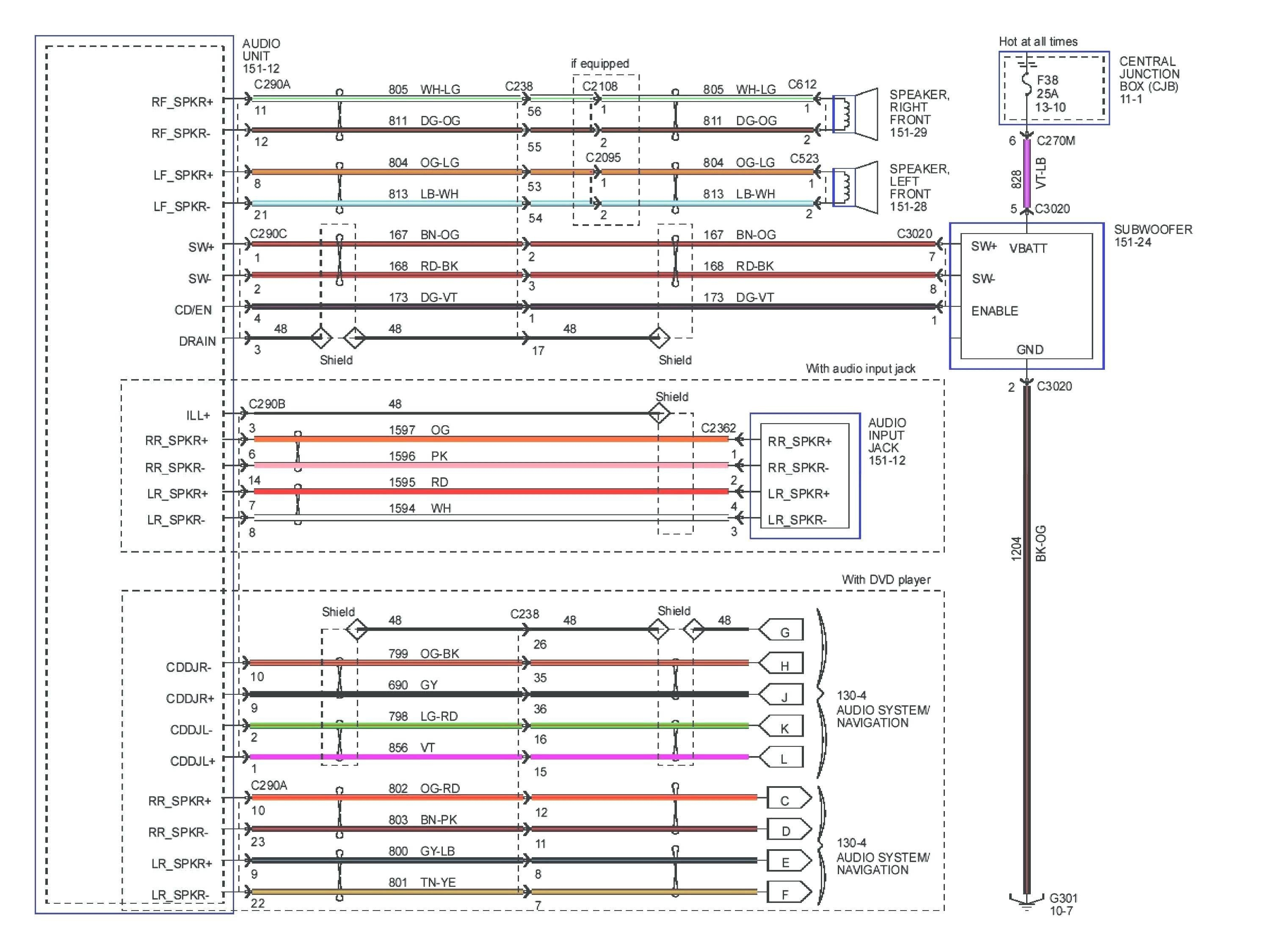 pioneer avh-x2800bs wiring diagram Collection-Pioneer Avh 280bt Wiring Diagram Fresh Pioneer Avh X2800bs Wiring Diagram Awesome Generous Pioneer Avh 8-r