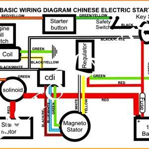 Pit Bike Wiring Diagram Electric Start - Chinese atv Wiring Diagram Beautiful 15 Chinese 110cc atv Wiring Diagram Car Prepossessing 110cc Afif 11g