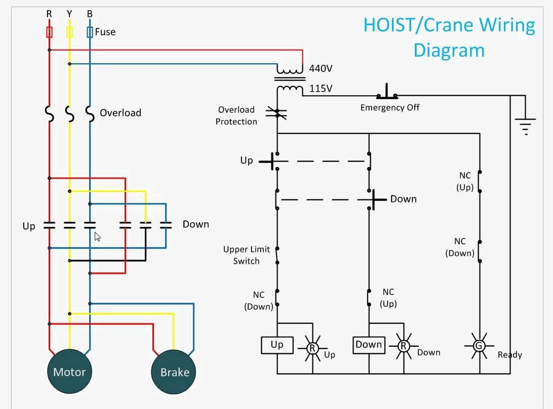 Pittsburgh Electric Hoist Wiring Diagram