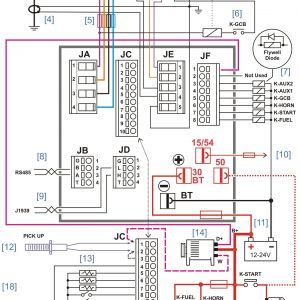 Plc Control Panel Wiring Diagram Pdf - Wiring Diagram Home Generator New Diesel Generator Control Panel Wiring Diagram 5g