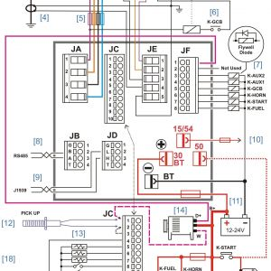 Plc Panel Wiring Diagram Pdf - Kubota Generator Wiring Diagram New Sel Generator Control Panel Wiring Diagram Fresh Amazing Olympian 5j