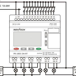 Plc Wiring Diagram Symbols - Plc Wiring Diagram Symbols Gambar Wiring Diagram Relay Best Omron Plc Wiring Diagram Omron Plc 18n