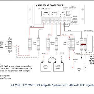 Poe Camera Wiring Diagram - Full List Of solar System Wiring Installation Circuit Diagram Rh Mozaw 48v 1000w Controller Wiring 1d