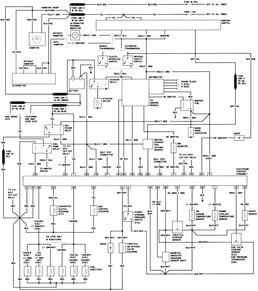 Diagram  1987 Ford F700 Wiring Diagram Full Version Hd