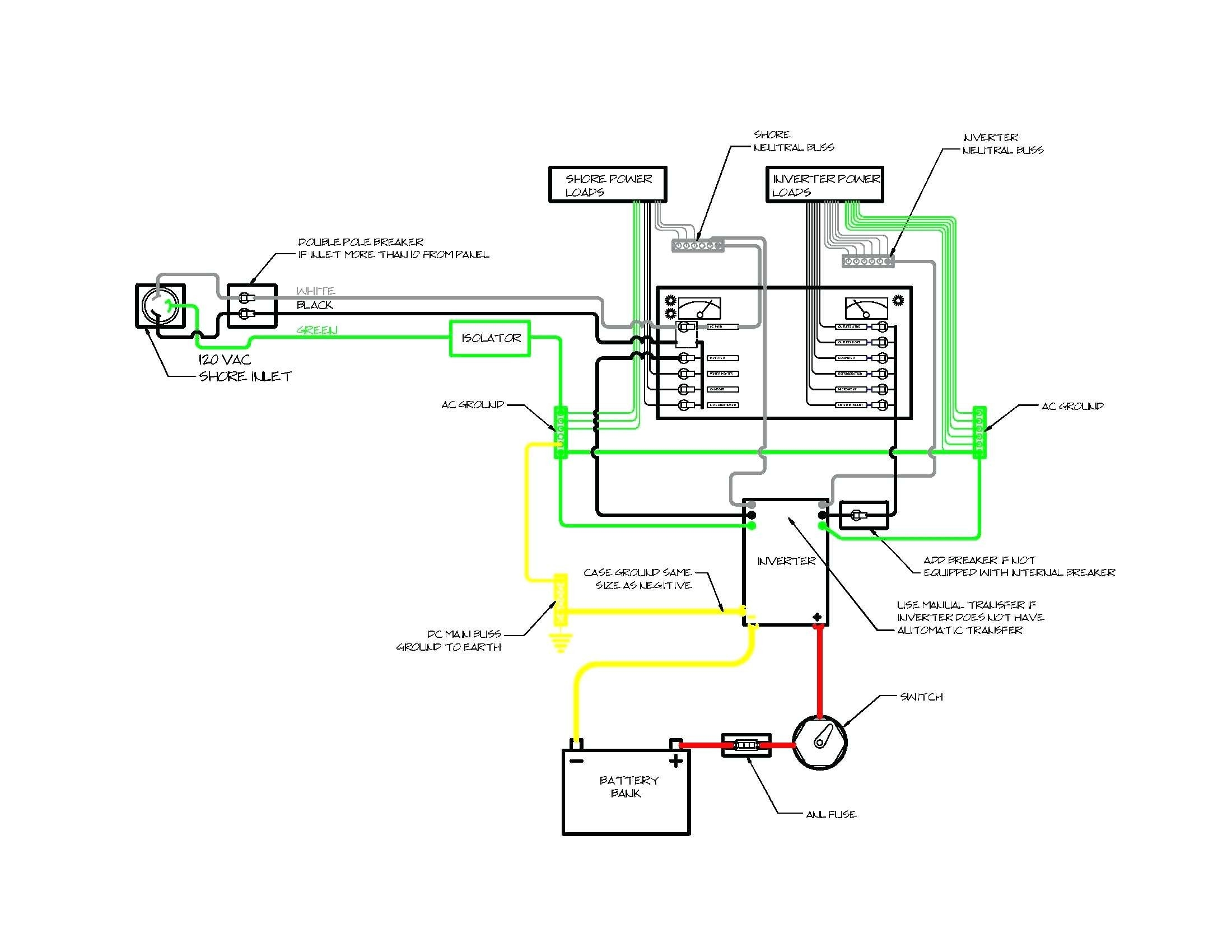 pontoon boat wiring schematic