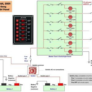 Pontoon Boat Wiring Schematic - Boat Wiring Diagram 19q