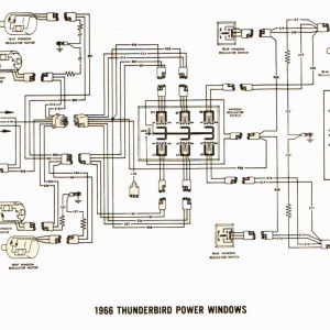 Power Window Switch Wiring Schematic - Power Window Wiring Diagram ford F150 Awesome Wire Diagram for 1965 T Bird Free Wiring Diagrams 11a