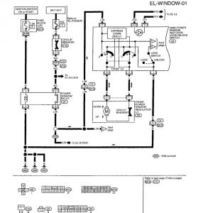 Power Windows Wiring Diagram - 2004 Nissan Altima Power Window Wiring Diagrams Schematics 9d