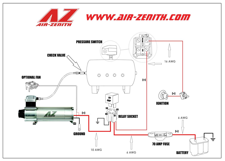 Pressure Switch Wiring Diagram Air Compressor