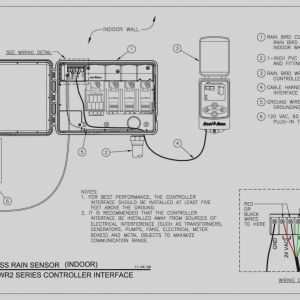 Rainbird Sprinkler Wiring Diagram - Rain Bird Esp Modular Wiring Diagram Download Elegant Sprinkler System Wiring Diagram Rain Bird Cad 13j