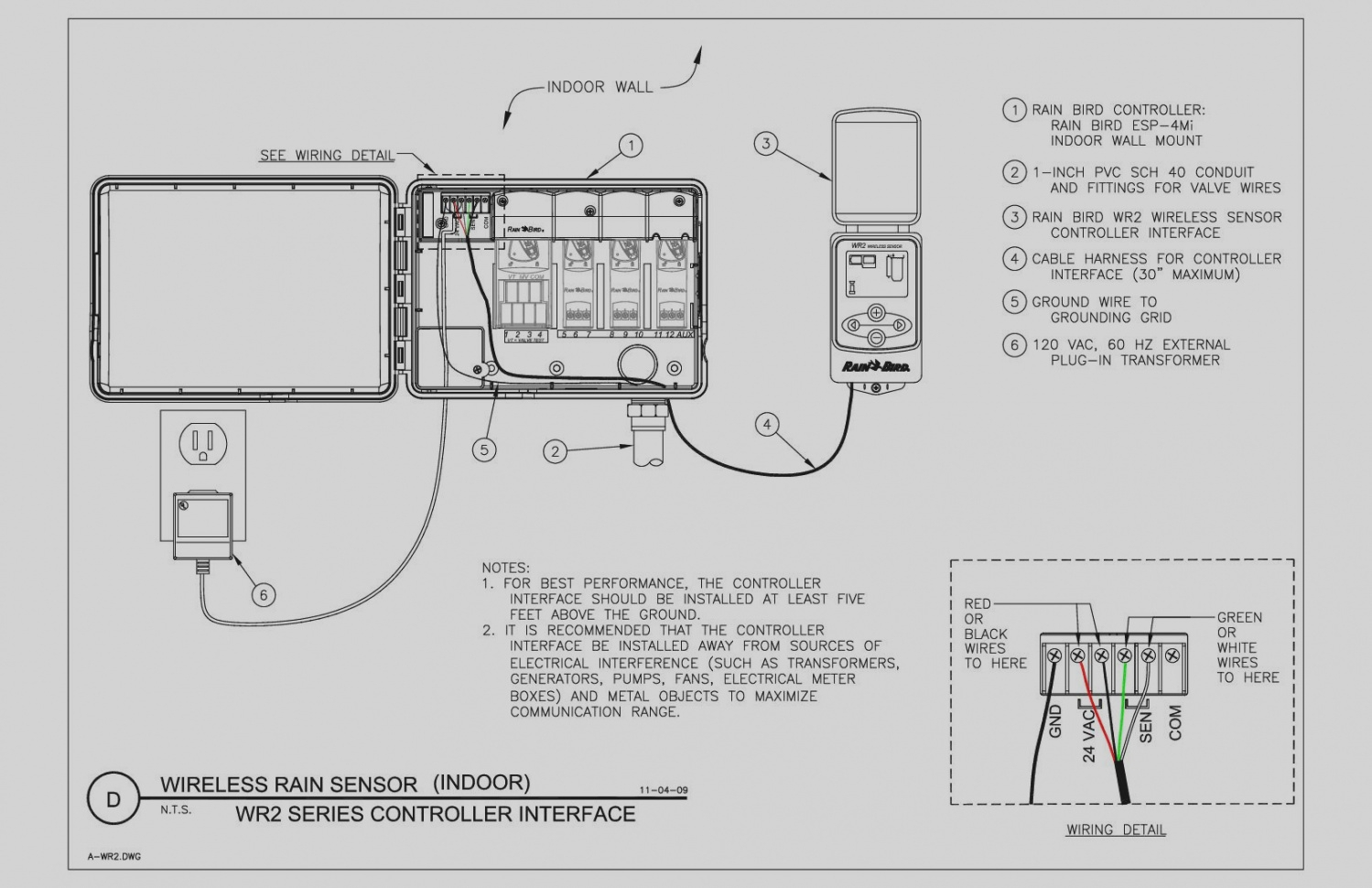 wiring diagram rain bird esp lxme wiring diagrams 24 Rain Bird Electrical System