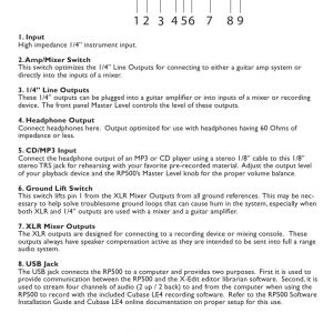 R&m Hoist Wiring Diagram - 6 11 12c