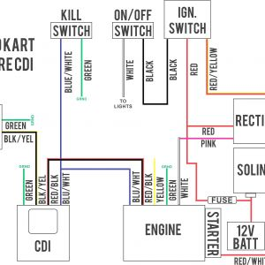 Razor Go Kart Wiring Diagram - Typical Ignition Switch Wiring Diagram Gas Scooter Electrical 6j