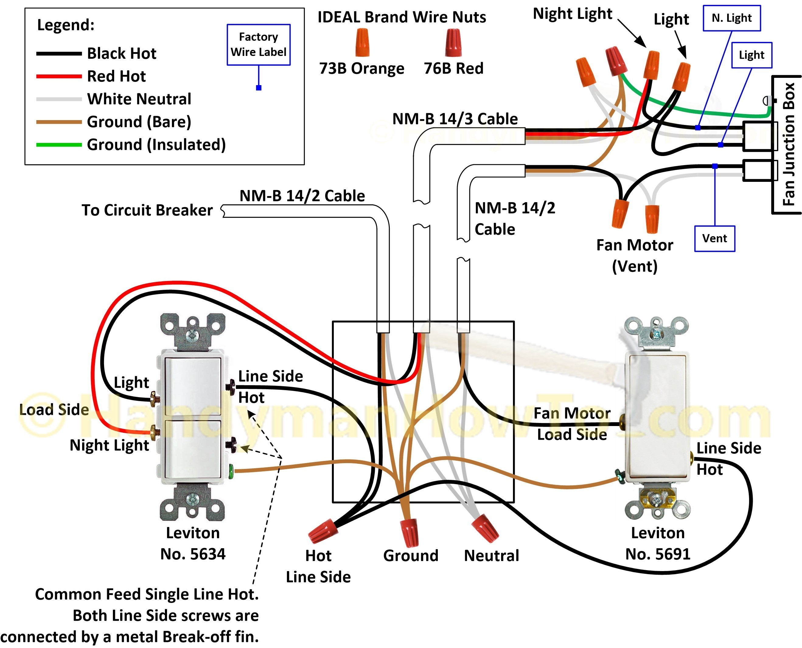 Recessed Lighting Wiring Diagram