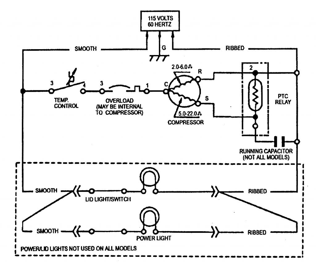 Refrigerator Defrost Timer Wiring Diagram