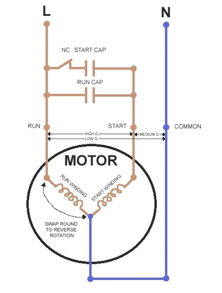 Refrigerator Start Relay Wiring Diagram