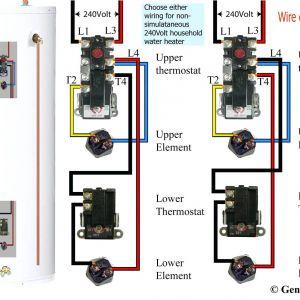 Rheem Electric Water Heater Wiring Diagram - Wiring Diagram for Electric Water Heater Save How to Wire A Hot Water Heater Diagram 13t